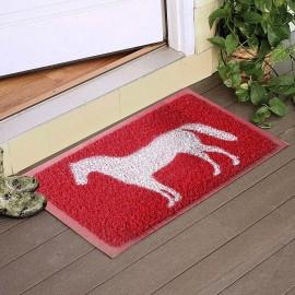 At Desenli Kıvırcık Kapı Önü Paspası