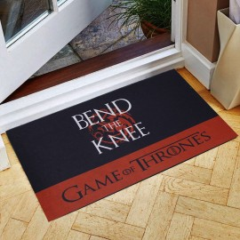 Game Of Thrones Bend The Knee Kauçuk Kapı Önü Paspası