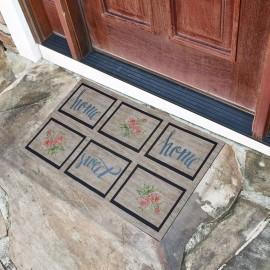 Home Sweet Home Yazılı Kauçuk Kapı Önü Paspası