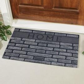 Home Yazılı Desenli Kauçuk Kapı Önü Paspası