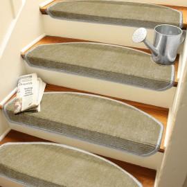 Sütlü KahveKendinden Yapışkanlı Merdiven Basamak Paspası / Halısı