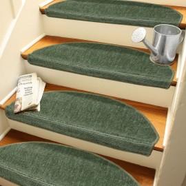 Yeşil Kendinden Yapışkanlı Merdiven Basamak Paspası / Halısı